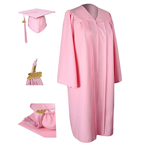 Pink Graduation Cap And Gown Amazoncom