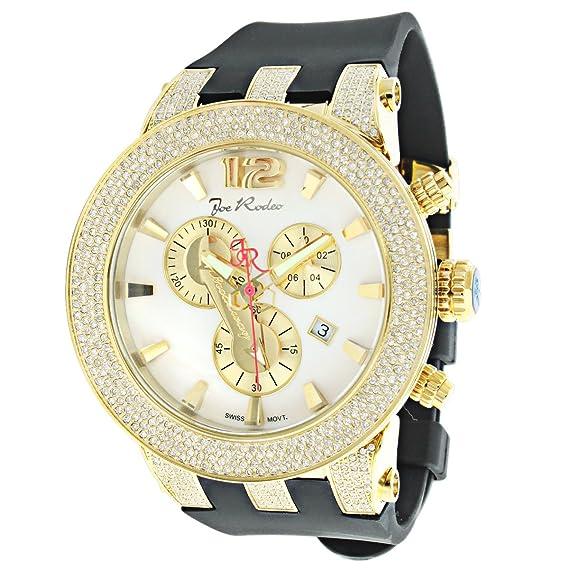 Joe Rodeo Watches  Broadway Mens Diamond Watch 5.00Ct  Amazon.ca  Watches 856d18887