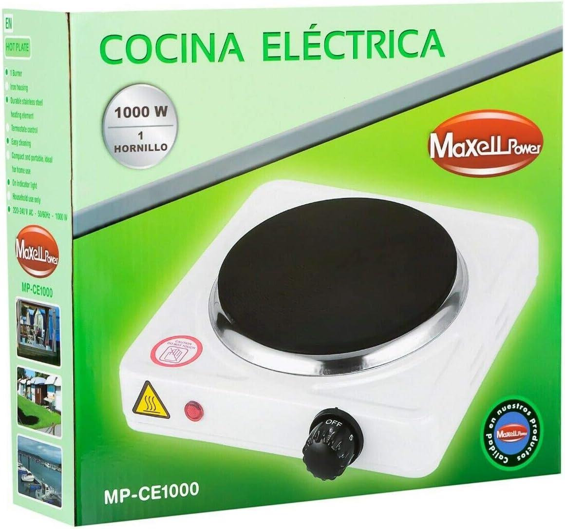 COCINA ELECTRICA HORNILLO 1000W 1 FUEGO PLACA ELECTRICO ...