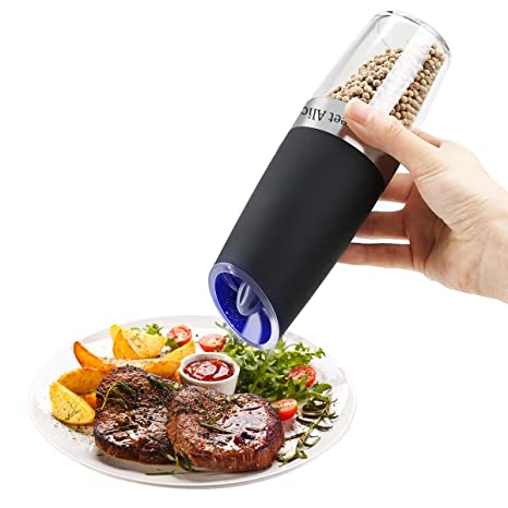 Amazon com: Pepper Grinder Electric Pepper Shakers Gravity