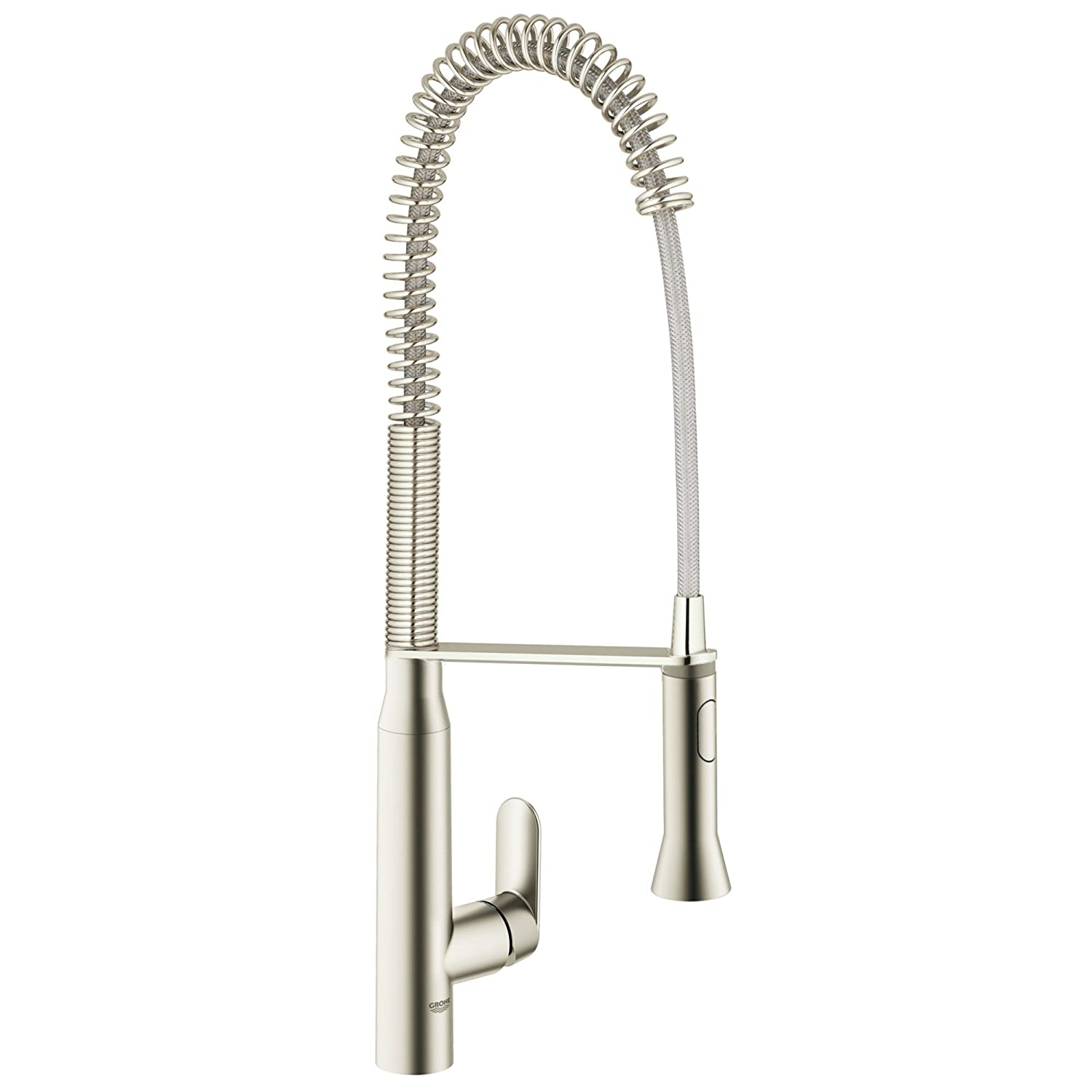 K7 Semi Pro Single Handle Pull Out Kitchen Faucet Touch