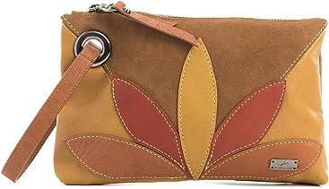 VELEZ Women Genuine Full Grain Leather Makeup Bag   Cosmetiquera de Cuero