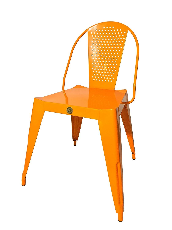 316 PARIS Silla Bistrot Design Acero Inoxidable - Color ...