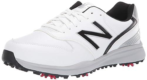 najlepsza obsługa sklep internetowy oficjalny sklep New Balance Mens Sweeper Waterproof Spiked Comfort Golf Shoe