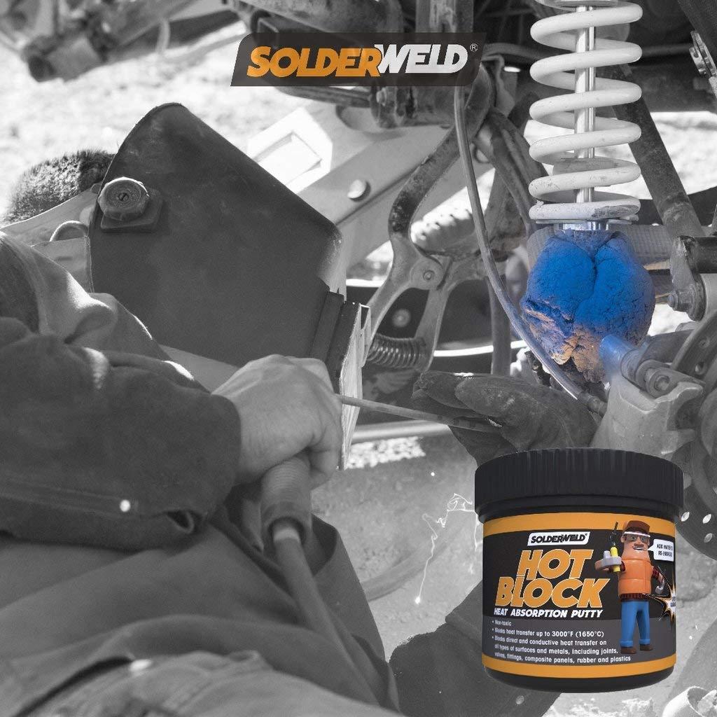 Solderweld SWI-SW-HB1 Hot Block Heat Stop Putty 1 Lb. Tub