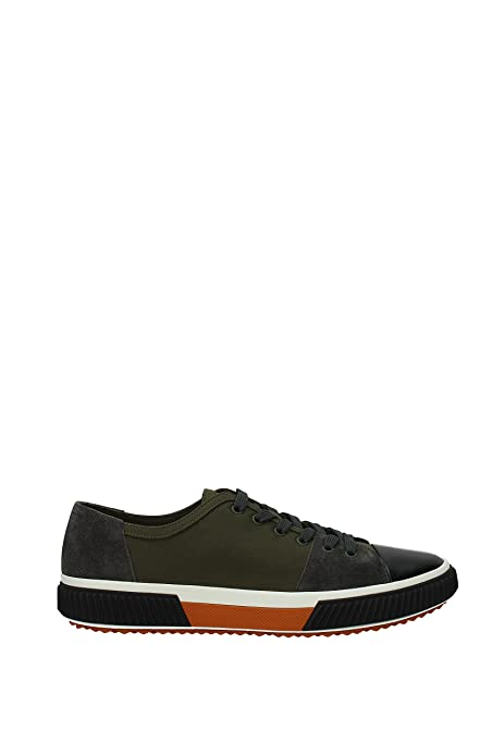 7d6a0df513 Sneakers Prada Hombre - Tejido (4E3058GABARDINESCAMMILITAREASFALT) 44 EU:  Amazon.es: Zapatos y complementos