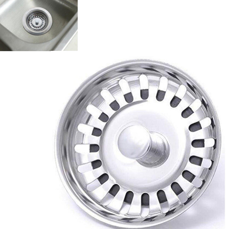 Sink collection Stainless Steel Kitchen Sink Basket Strainer Plug