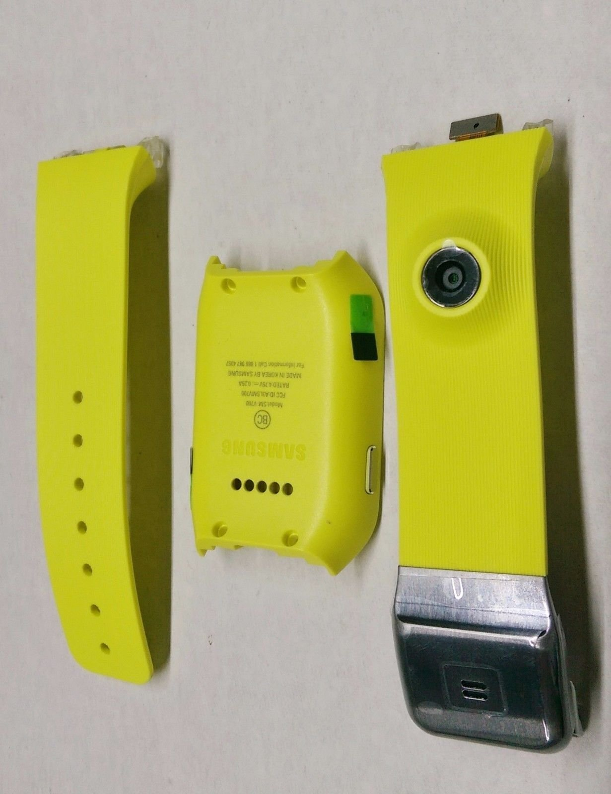 Samsung Galaxy Gear SM-V700 Green Back Housing Frame and Band Strap with Camera GH97-15090A (Green) with LCD