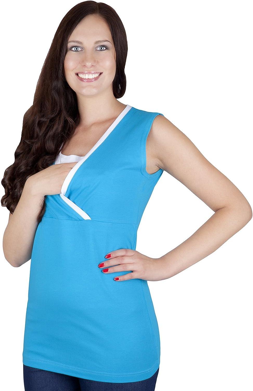 Mija Esencial Camiseta de Maternidad Lactancia 9057