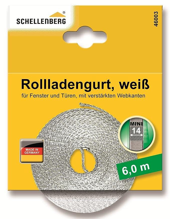 Rollladengurt Rolladengurt 10 mm Gurtband Made in Germany 1 Rolle 50 m