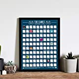 Amazon.com: Gift Republic 100 Albums Bucket List Poster ...