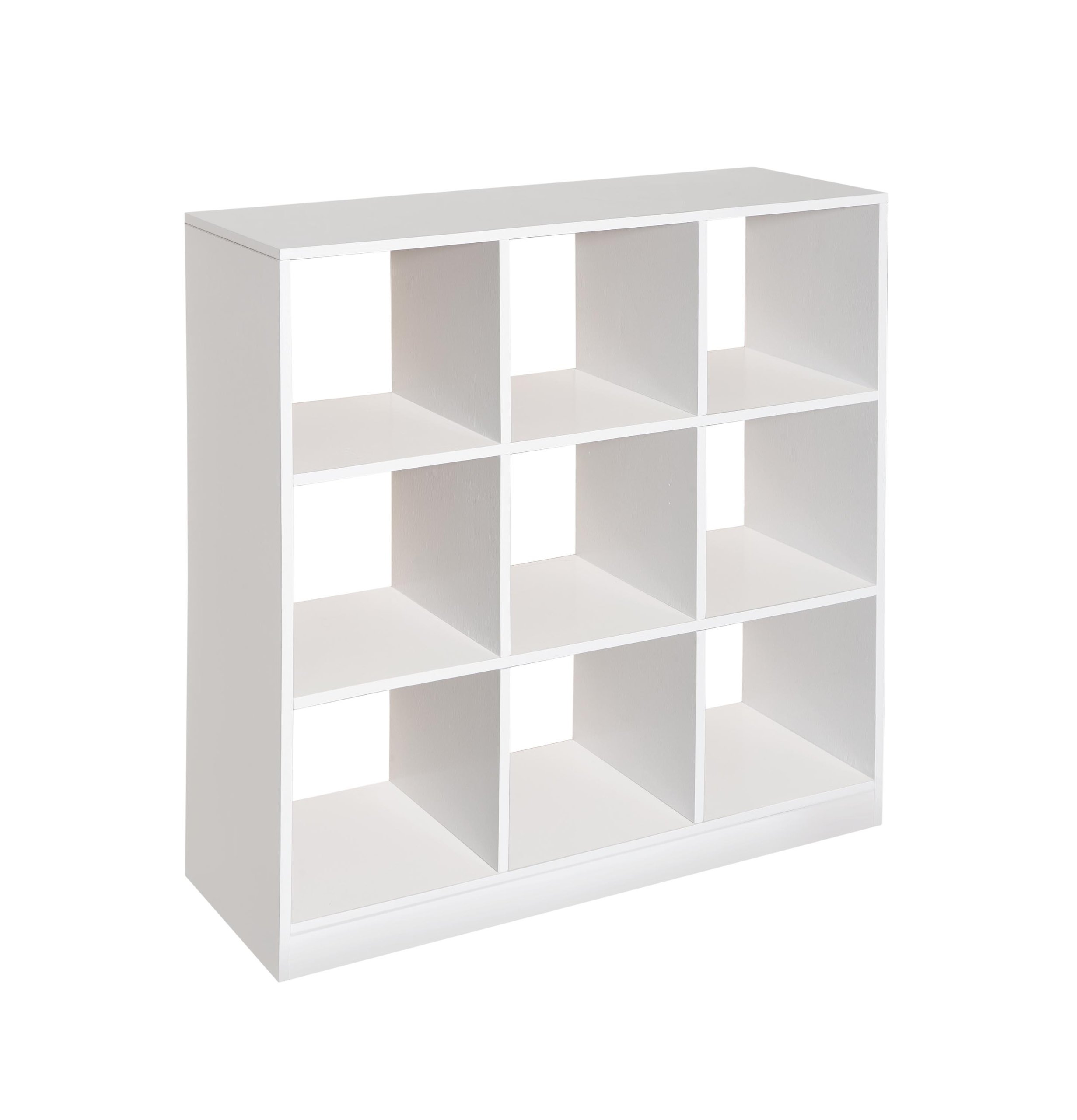 Badger Basket 3 by 3 Storage Unit, White