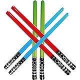 Yojoloin 6 UNIDS Inflables Star War Light Saber Sword Stick Globos para Suministros de Fiesta Favores de Fiesta Globos…