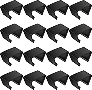 16 Pieces Outdoor Patio Furniture Clips Furniture Clamps Chair Fasteners for Patio Sectional Sofa, Connect The Sectional or Module Outdoor Couch Patio Furniture