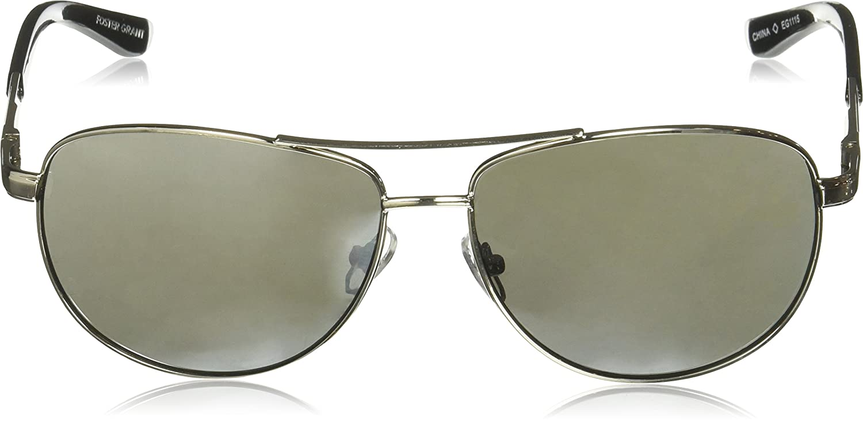 0a1256358372 Amazon.com  Foster Grant Sunday Drive Aviator Sunglasses Gunmetal 158 mm   Clothing