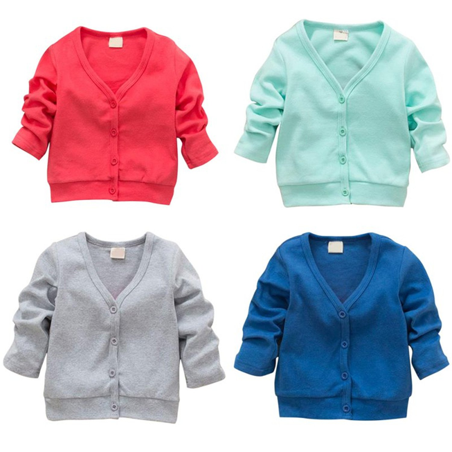 ddc93b5de Amazon.com  Terryws Hot Sales 0-3Y Baby Kid Clothing V-Neck Cardigan ...