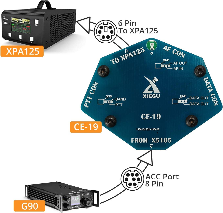 Xiegu CE-19 Data Interface Expansion Card for G90 XPA125B X5105 G1M