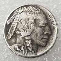 YunBest Morgan Silver Dollars – Pièce Hobo Nickel – Collection de pièces de Monnaie 1915 – Dollar américain Old Morgan Dollar BestShop