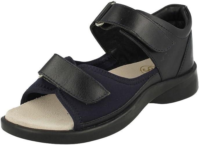 Equity Ladies Wide Fit Sandals Jasmine
