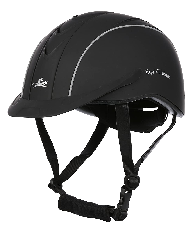 EKKIA(エキア) 乗馬用具 ブラック E-TH.COMPET HELM.BLK M/52-56 911420023 911420023