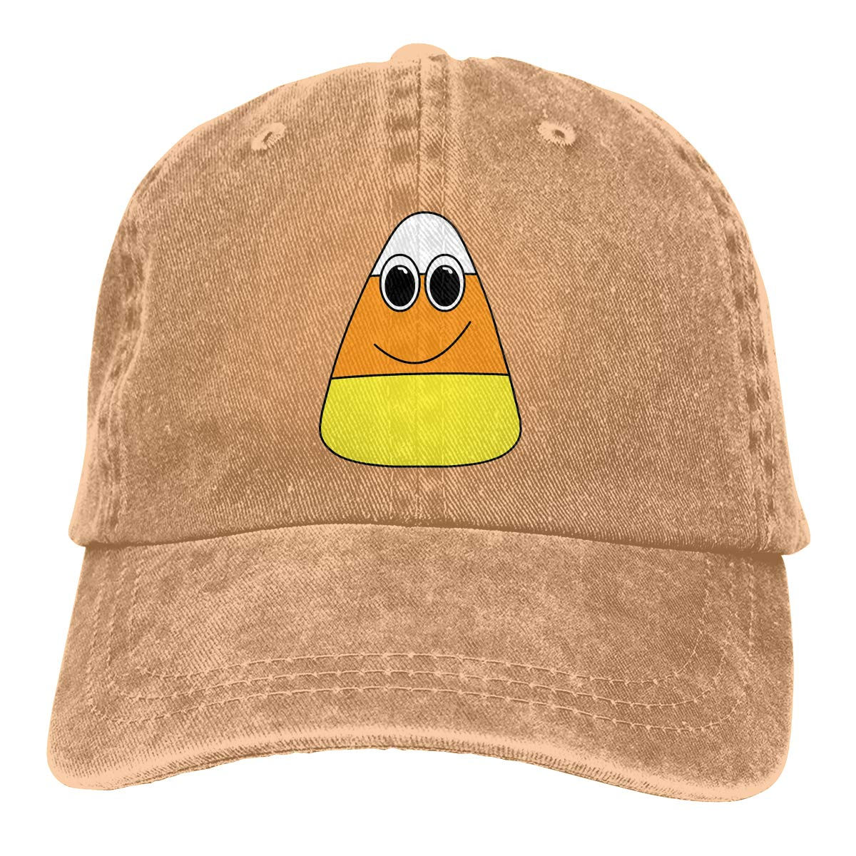 Qbeir Adult Unisex Cowboy Cap Adjustable Hat Cute Animated Candy Cotton Denim