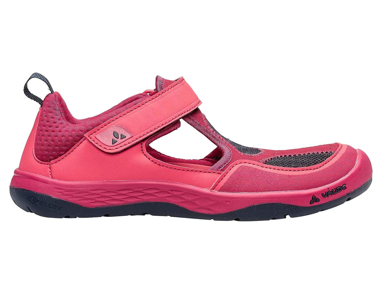 Rose (Bright rose 957) VAUDE Kids Aquid, Chaussures de Randonnée Basses Mixte Enfant 32 EU