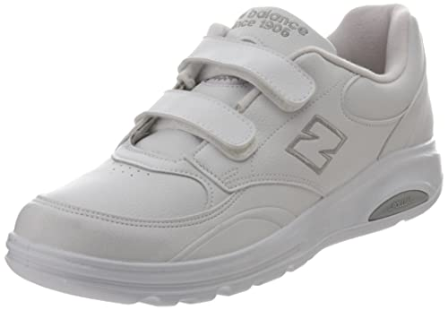 New Balance Men's MW813V1 Walking Shoe, White, 9.5 D US