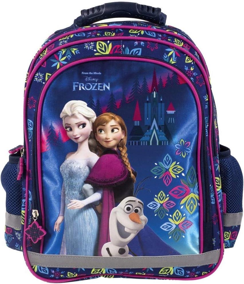 La Reine des Neiges Frozen Sac a Dos Scolaire Cartable pour l/'/école et Loisirs extrascolaires