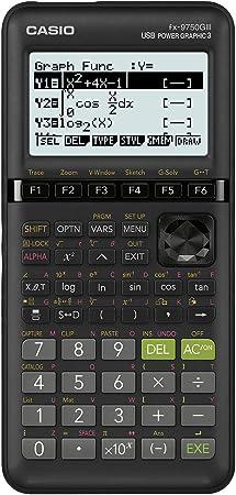 Amazon.com : Casio fx-9750GIII Black Graphing Calculator : Office Products