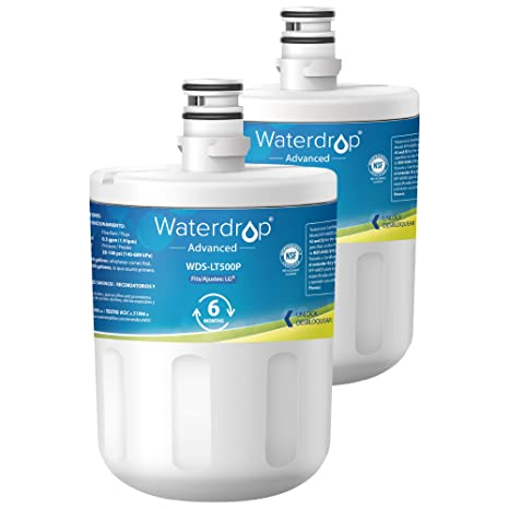 2 x Waterdrop LT500P reemplazo del filtro de agua del ...