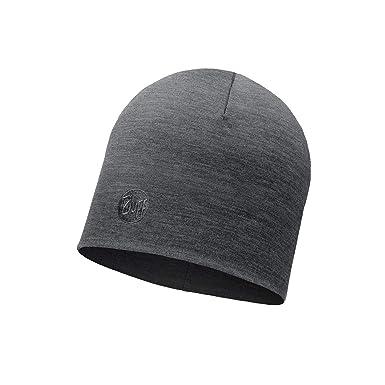 Merino Wool Buff Buff Black Lightweight Merino Wool Multifunctional Headwear