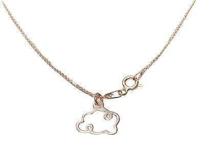Fashion Necklaces & Pendants Four-Leaf Clover Petiole Celebrity Layered Style 24K Gold Vermeil Necklace.