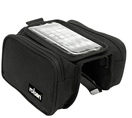 cbedfcc4704 Image Unavailable. Image not available for. Colour: Rolson Double Bike  Pannier ...
