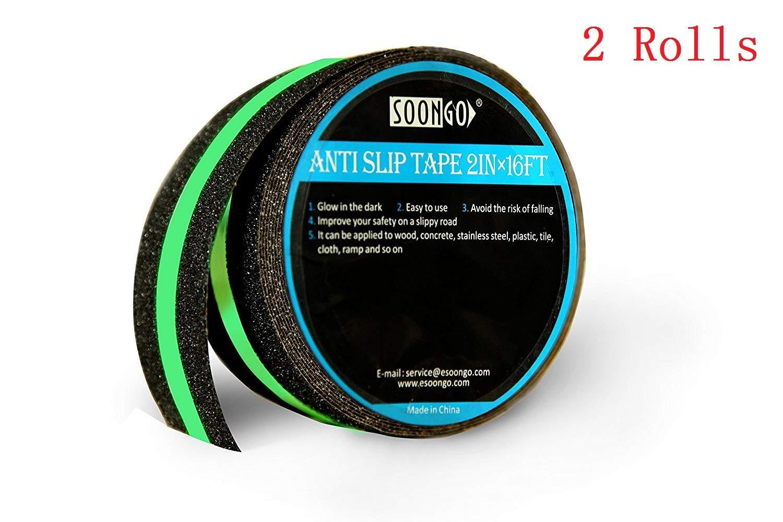 Cinta Antideslizante Fosfor. 2 Rollos 5cm. Xx 15mt. SOON GO