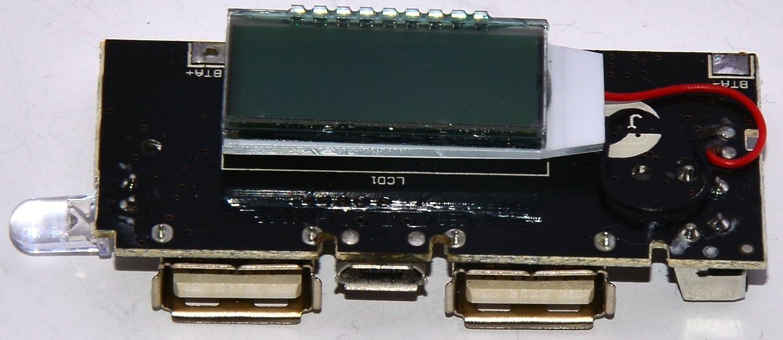 M A Enterprises Ma Dual Usb 5v 1a 21a Mobile Power Bank 18650 Polymer Pcba Circuit Board Diy Electronics