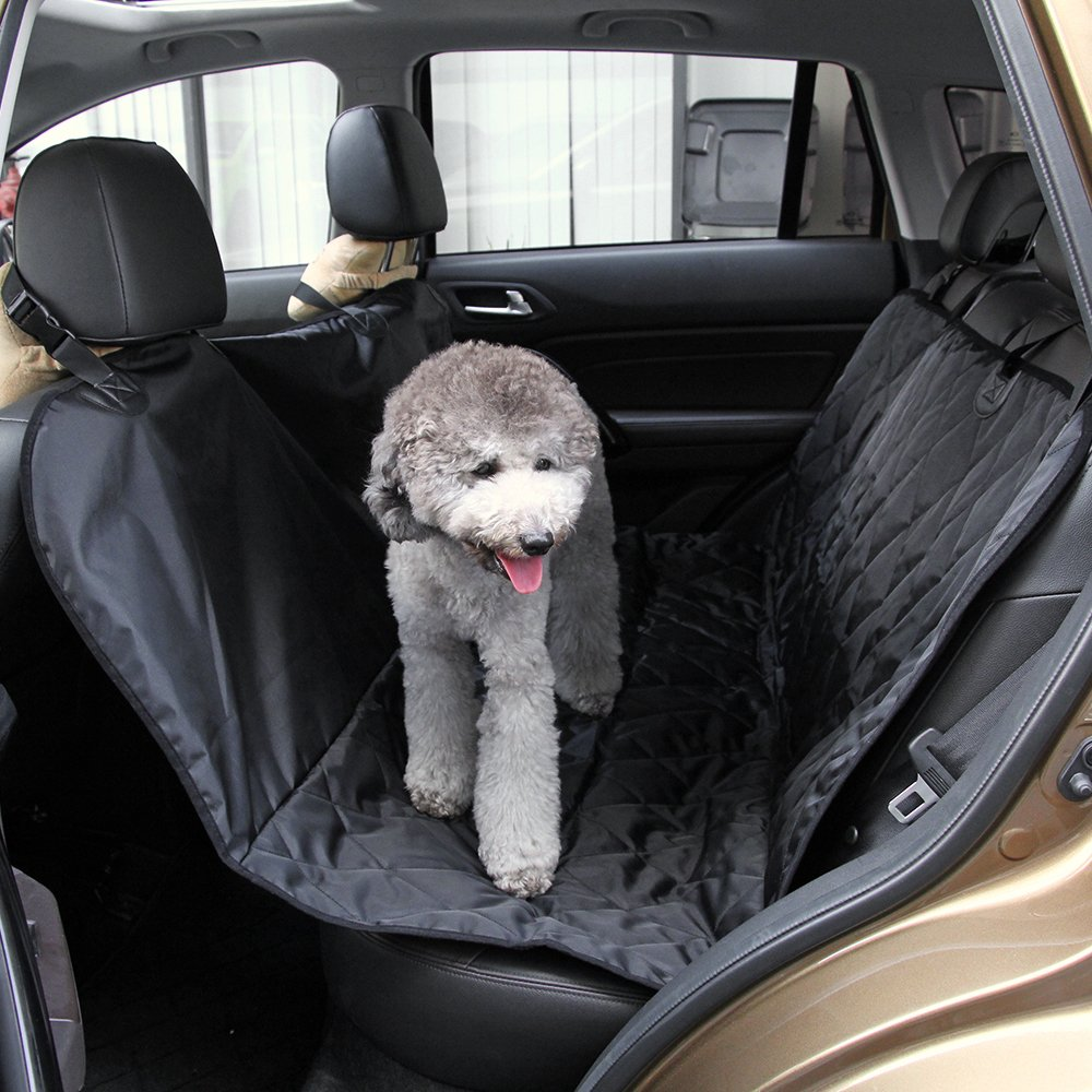 Amazon Marsboy Dog Seat Cover For Cars Slip Proof Covers Hammock Fourfold Waterproof Leather Seats Pet Supplies
