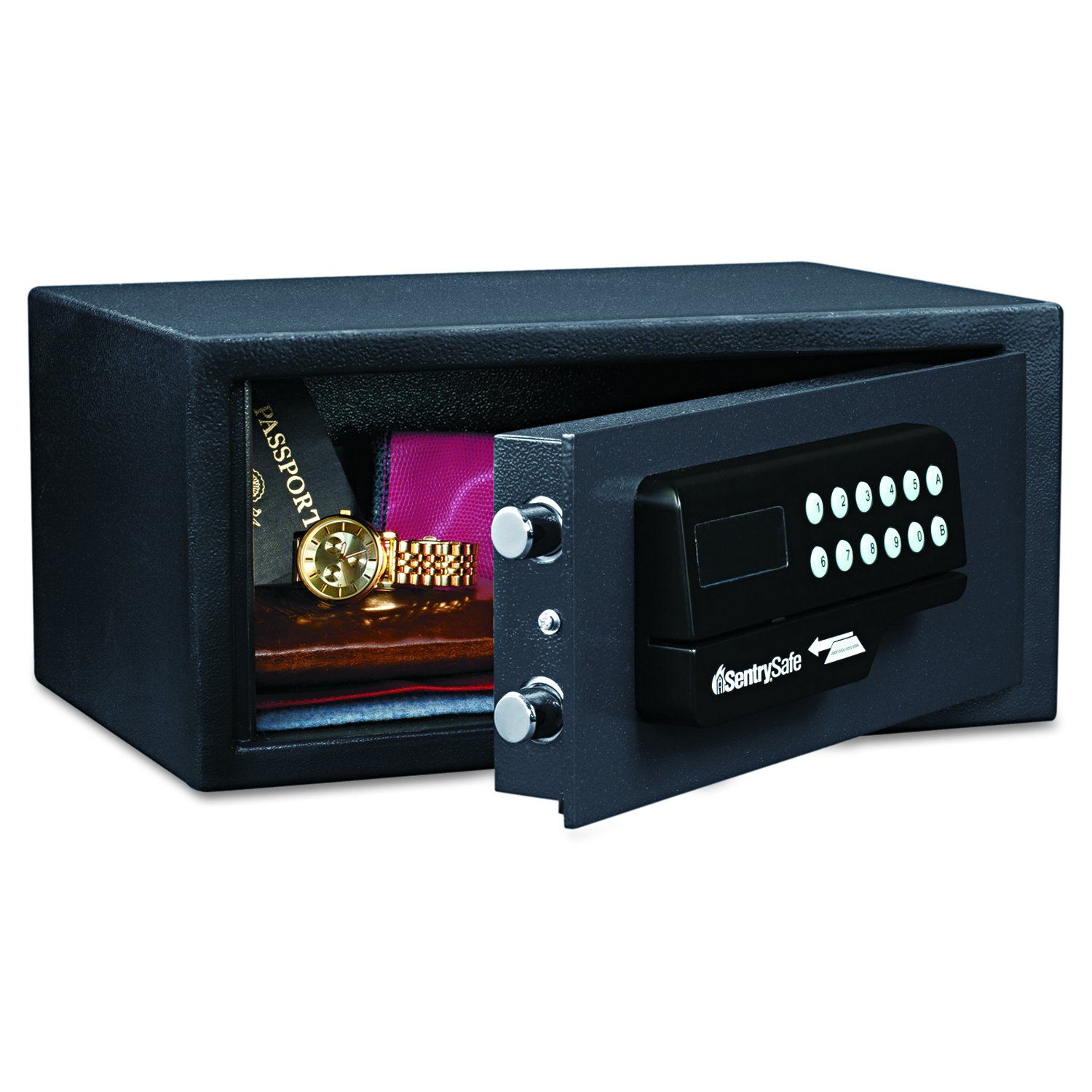 Sentry Safe H060ES Electronic Card Access Safe with 11.6L Capacity Black B00590GZSW