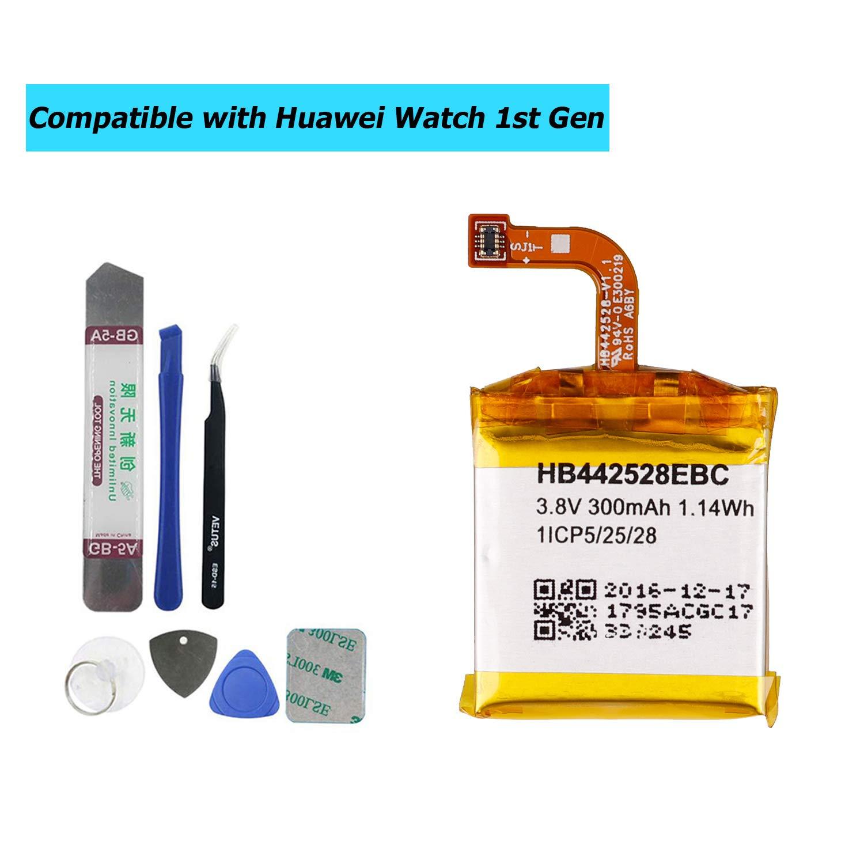 Bateria HB442528EBC para reloj Huawei Watch 1st Gen