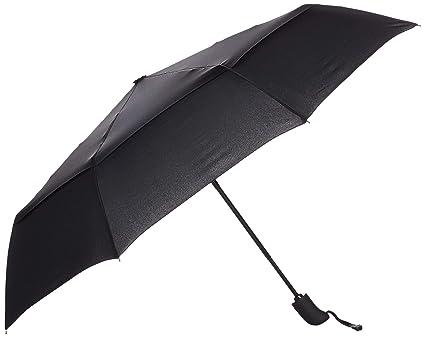 7ae5945f19cc AmazonBasics Umbrella with Wind Vent (Auto-Open & Close Function) - Black