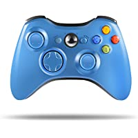 Wireless Controller for Xbox 360, Astarry 2.4GHZ Game Controller Gamepad Joystick for Xbox & Slim 360 PC Windows 7, 8, 10 (Blue)