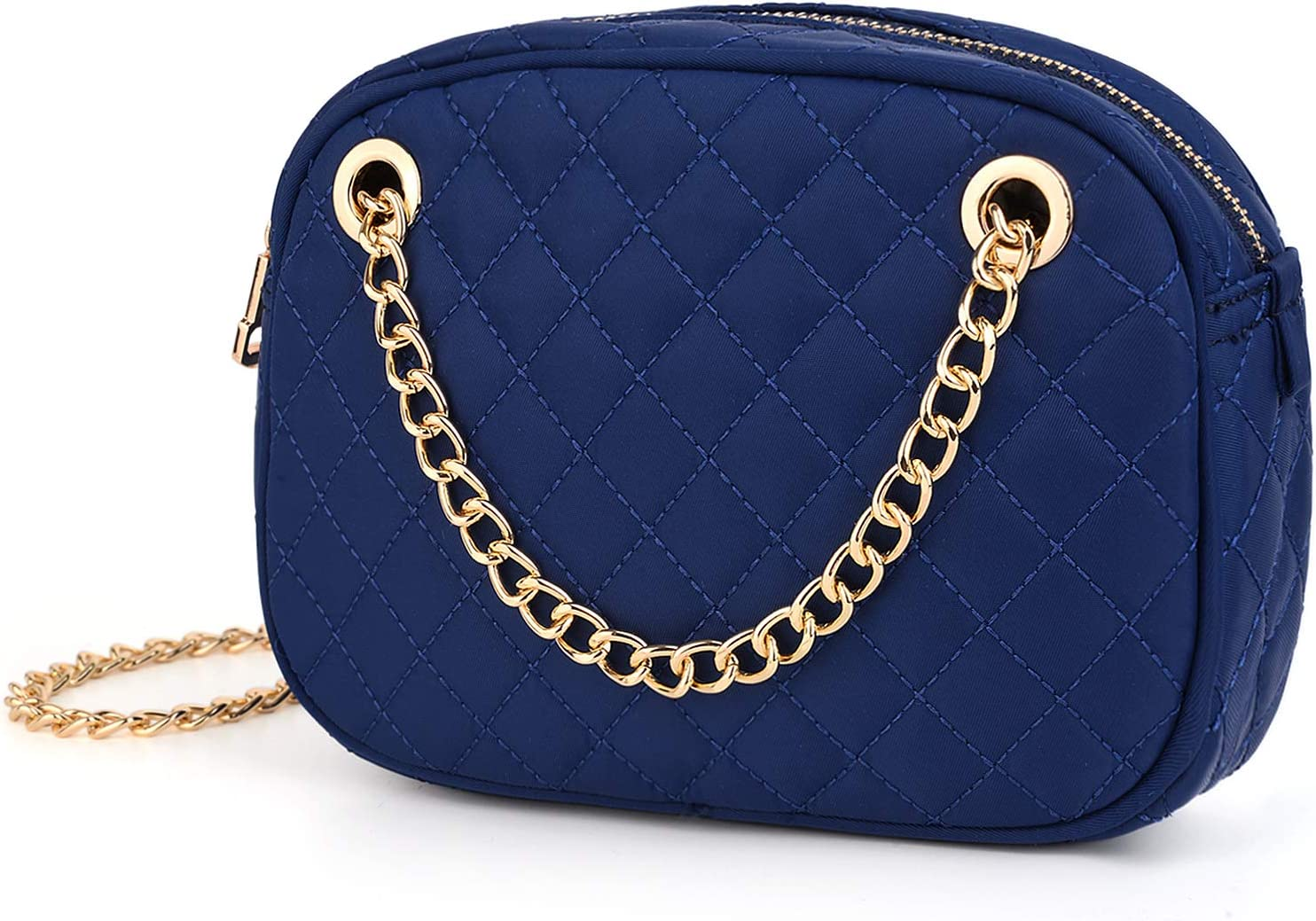 UTO Femme Sac bandouli/ère d/épaule Pochette Mode Mini Petit Sac /à Main L/éger Convertible Voyage Bleu