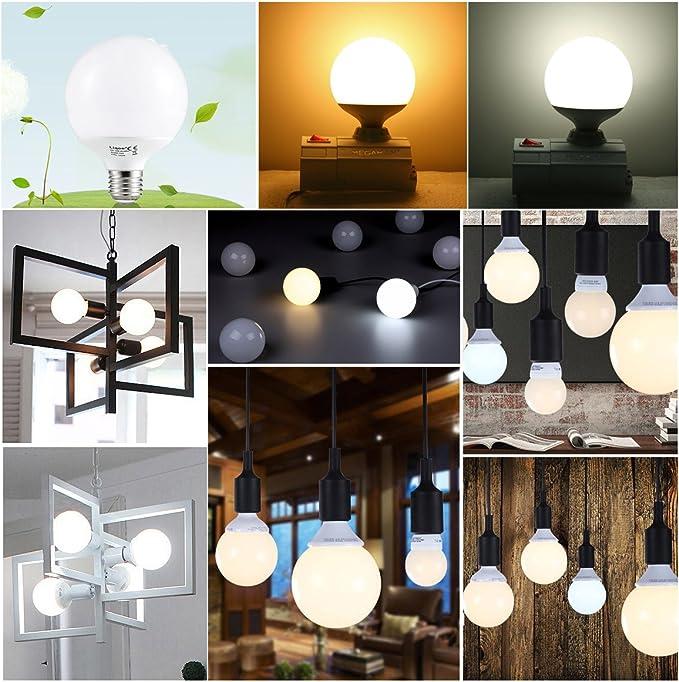 BUIDI E27 5//15 20W UV Ultraviolett Fluoreszierendes Schwarzlicht CFL Gl/ühlampe Lampe 220V Linsenring