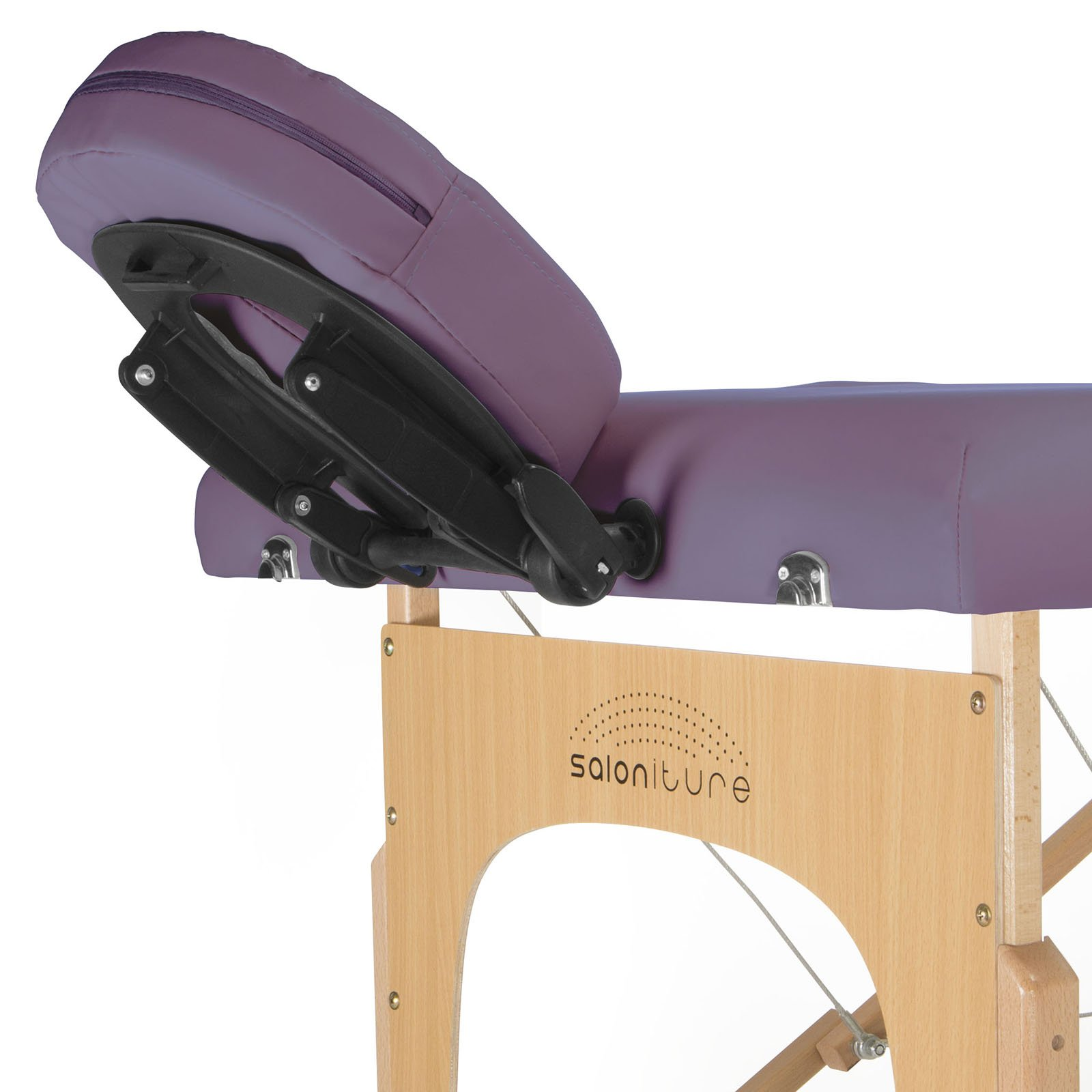 Saloniture Professional Portable Folding Massage Table with Carrying Case - Lavender by Saloniture (Image #2)