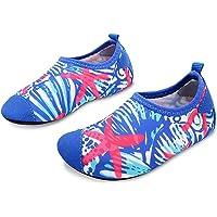 L-RUN Zapatos de agua para niños descalzos para playa, piscina, surf, yoga