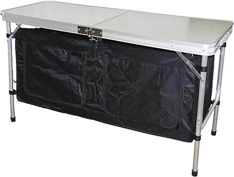 Hosa - Mueble Cocina Armario Plegable Bajo Mesa Maleta 2 ...