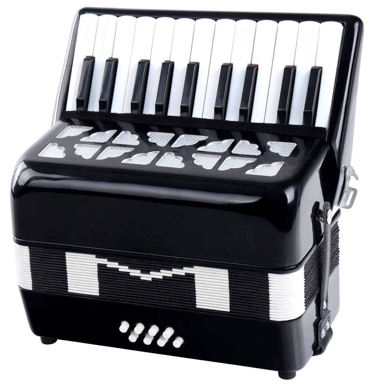 Classic Cantabile Secondo kids accordion 8 bass black by Classic Cantabile