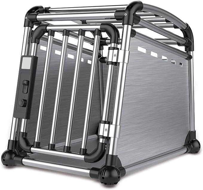 ALL FOR PAWS Jaula Transporte para Coche De Aluminio 3500 g
