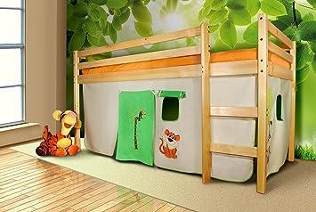 Etagenbett Vorhang Set Mädchen : Hochbett vorhang set milostovice wohndesign inspiration