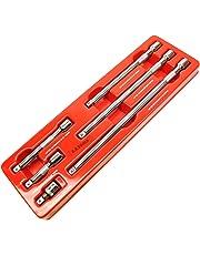 "3/8"" Drive Straight Socket Extension Bar Set 38mm - 300mm 6pc Set"