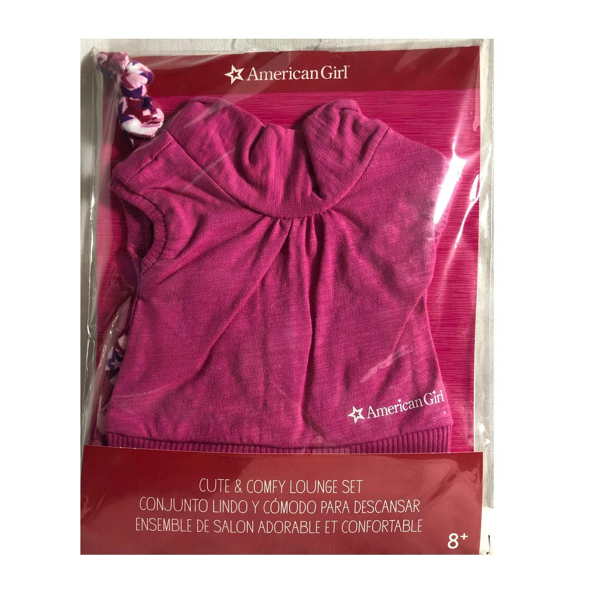 American Girl Truly Me Cute /& Comfy Lounge Set for 18 Dolls Doll Not Included